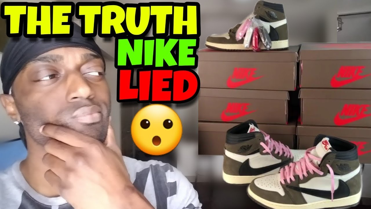 Nike Lied To Us!! The Truth Why Travis Scott Was Hard To Get & Crashed