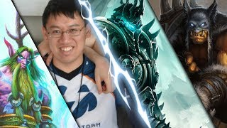 Trump Casually Defeats the Lich King with Druid & Hunter (KFT Frozen Throne)
