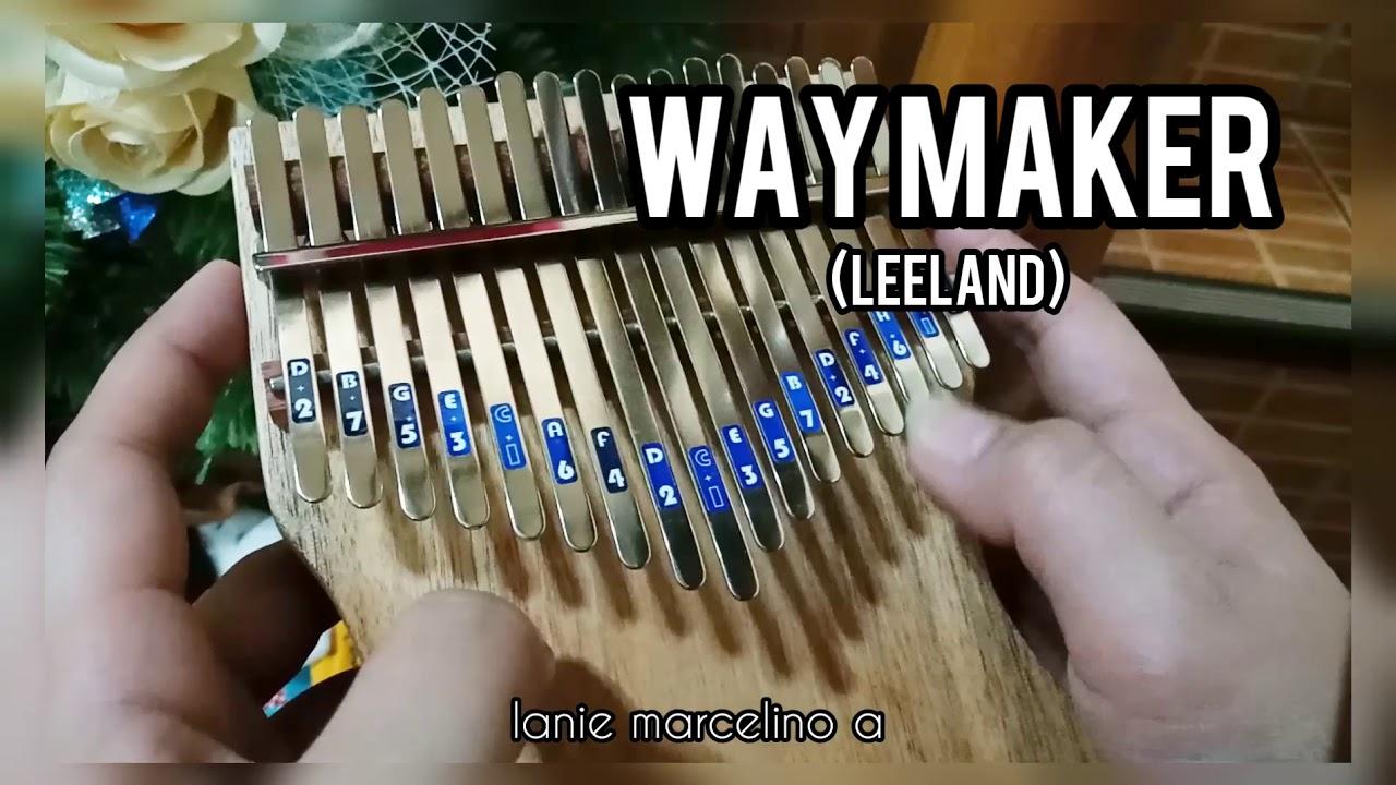 Way Maker (Leeland) || Kalimba Cover