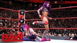 Gambar cover Asuka vs. Sasha Banks: Raw, Jan. 29, 2018