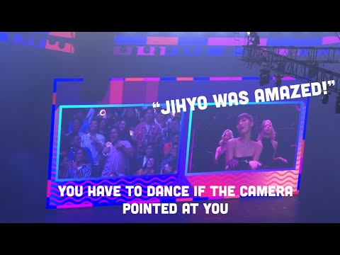 TWICE IN MANILA- GAME WITH PH ONCE (JIHYO WAS AMAZED!)