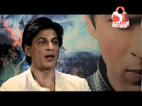 Shahrukh Khan talks about Rajnikanth and Amitabh Bachchan being in Ra.one