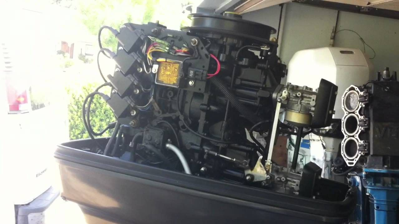 1996 Force Outboard Motor  YouTube