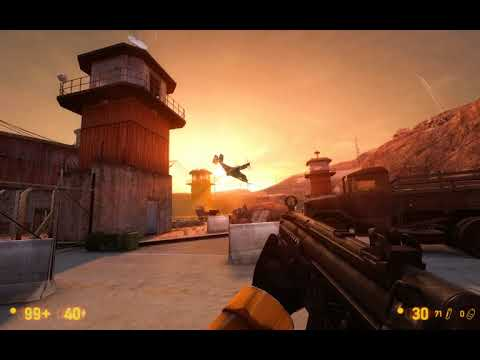"Black Mesa - ""We've Got Hostiles!"" - Topside Battle"