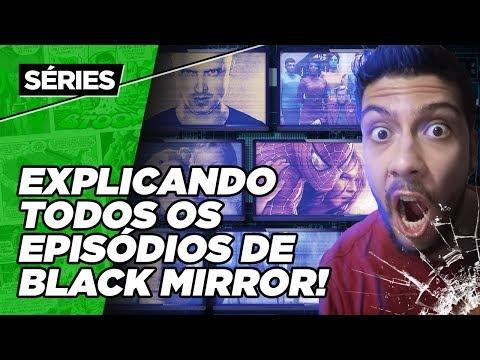 BLACK MIRROR - EXPLICANDO A QUARTA TEMPORADA!