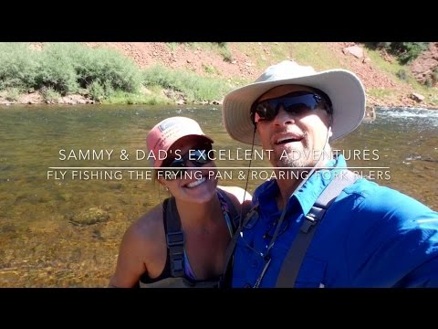 Fly Fishing The Frying Pan & Roaring Fork Rivers 7'16