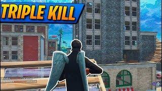 TRIPLE KILL en PISOS PICADOS! Fortnite: Battle Royale