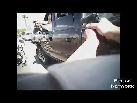 Bodycam Of 2 Las Vegas Officers Shot In Gunfight