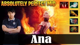 Ana - Lina | ABSOLUTELY PERFECT MID | Dota 2 Pro PUB Gameplay