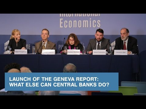 Launch of the Geneva Report: What Else Can Central Banks Do?