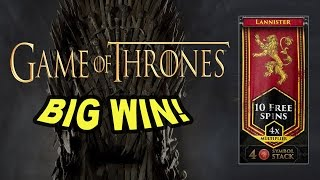 BIG WIN on Game of Thrones Slot - £0.90 Bet(Join me at Rizk for an exclusive NickSlots bonus! @ http://nickslots.com/yt/rizk Over 300x!!, 2016-12-19T16:29:12.000Z)