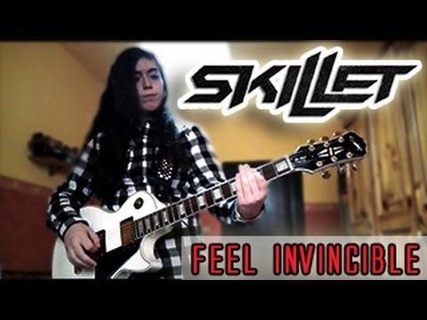 skillet feel invincible guitar cover tabs hd youtube. Black Bedroom Furniture Sets. Home Design Ideas