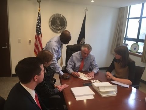 Gov. McAuliffe declares state of emergency ahead of impending storm