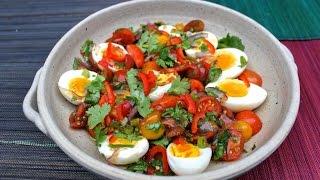 Poo's Thai Egg Salad