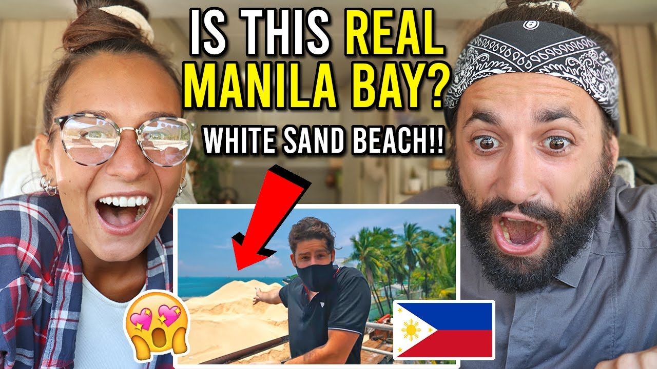 Insane MANILA BAY WHITE SAND BEACH Transformation 2020 (THIS is UNREAL!!)