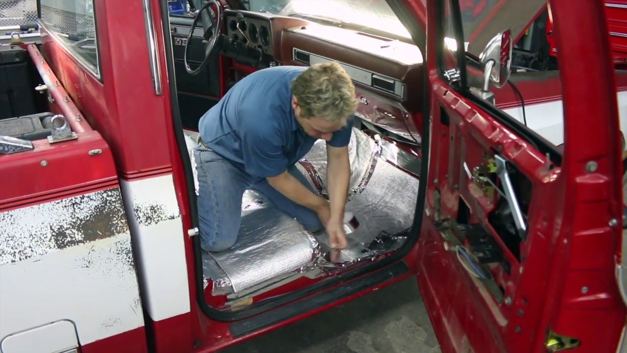 LMC Truck: Truck Molded Carpet Installation in a ChevyGMC C10 Truck with Kevin Tetz  YouTube