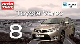 Der ZF Praxistest 2014 - Platz 8 Toyota Verso