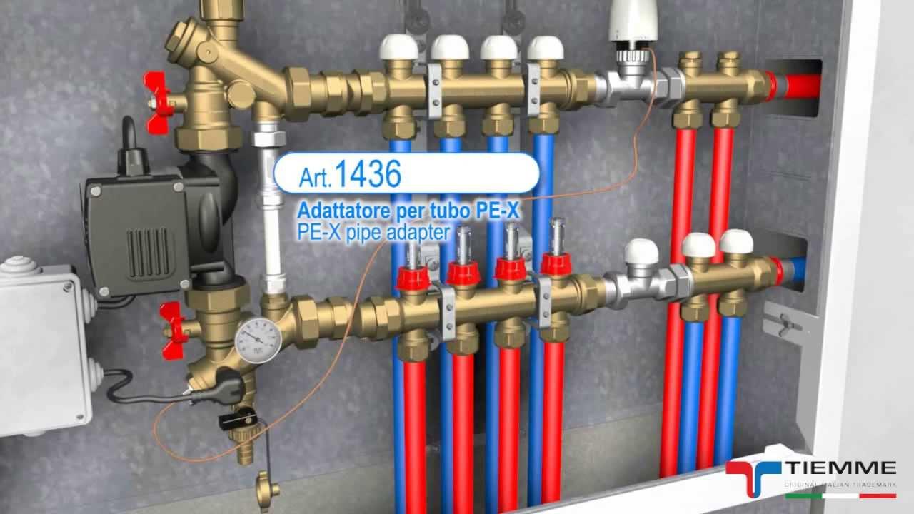 Temperatura Mandata Impianto A Pavimento art.3868g, 3868ght - gruppi di miscelazione e distribuzione