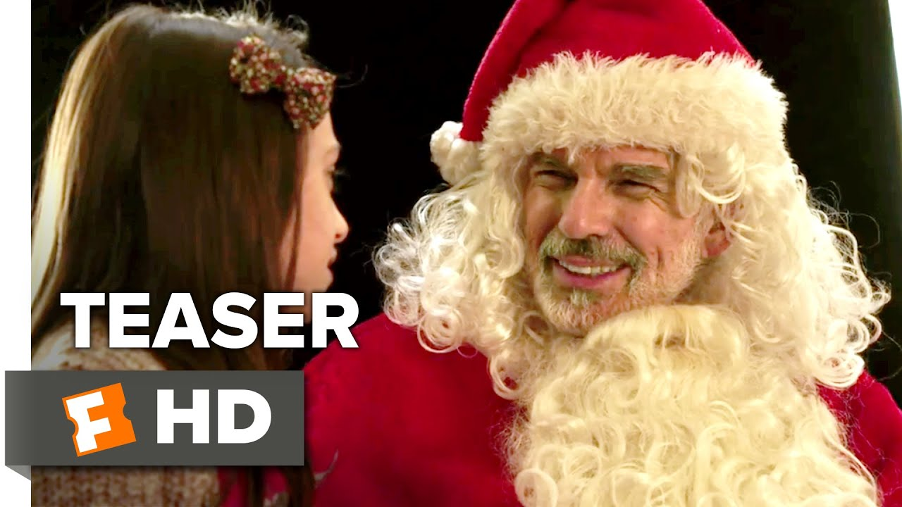 bad santa 2 official teaser 1 2016 billy bob thornton movie youtube - Christmas Pictures With Santa 2