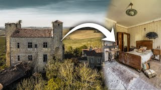 LOST IN THE COUNTRYSIDE | Abandoned Southern French Tower MANSION of a Generous Wine Family