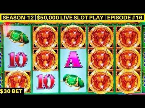 High Limit Bull Mystery Slot Machine $30 Bet Bonus - High Limit Konami Slot | SE-12| Episode #17