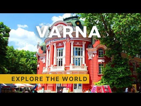 🇧🇬 Walking in VARNA 4K, Bulgaria