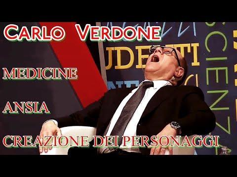 Carlo Verdone : Medicine, Ansia e creazione dei Personaggi