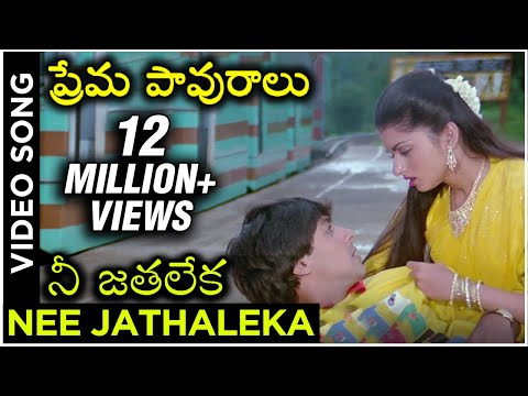 Nee Jathaleka  Video Song (Maine Pyaar Kiya) | ప్రేమ పావురాలు Movie | Salman Khan | Bhagyashree