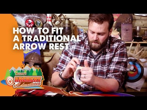 How To Fit A Traditional Arrow Rest
