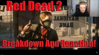 Red Dead Redemption 2 Launch Trailer Reaction And Breakdown!