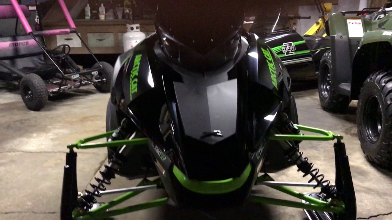 2017 Arctic Cat Zr 9000 Limited