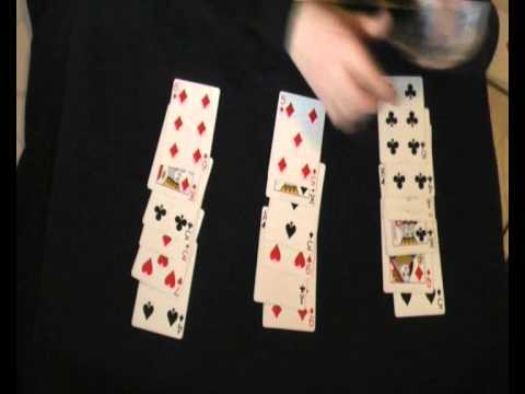 21- Card Trick Tutorial