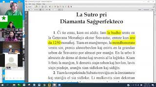 01 Studrondo pri La Diamanta Sutro | 에스페란토 금강경 1-3장 공부