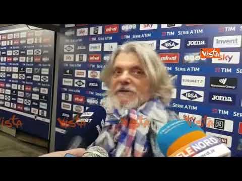 Samp-Milan 0-2, Ferrero: 'Volevo la finale, con tutto quello che ho fatto per 'sta ca**o di città'