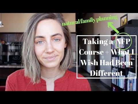 Taking a Natural Family Planning (NFP) Course + What I Wish Would Have Been Different