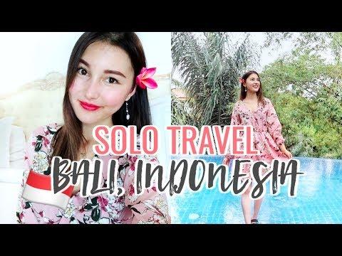 Solo Travel To Ubud, Indonesia! Villa Tour🌿⎮Bali Trip 2018