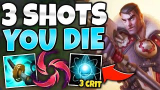 USE W AND KILL ANYONE! TRIPLE CRIT JAYCE IS MEGA BUSTED - League of Legends