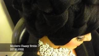 BLUSH TV BLACKBURN Modern Classy Bride By TARA BLUSH  MUA to the celebrities