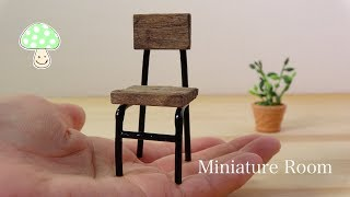 【DIY】I made Miniature Antique Style Chair♡