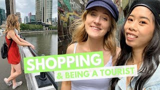 CLOTHING HAUL, BEING A TOURIST & FOOD || travel vlogs 2018 💛🌏