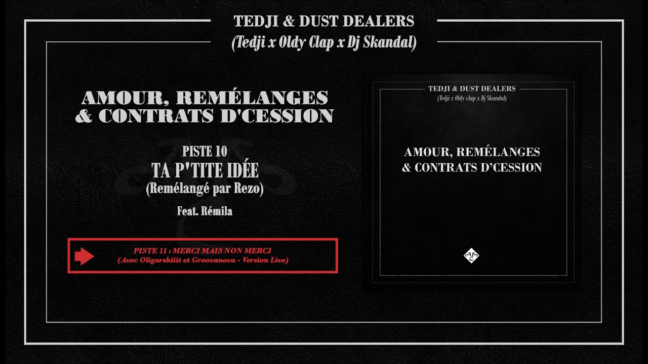 TEDJI & DUST DEALERS - Ta P'tite Idée | Remélangé par Rezo (Audio)