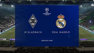 ⚽ borussia mönchengladbach vs real madrid | uefa champions league (27/10/2020) fifa 21