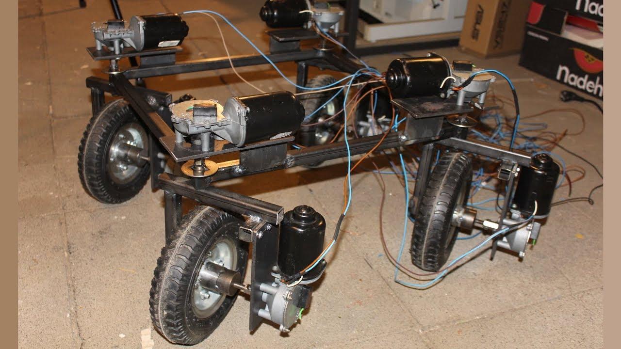 Windshield Wiper Motor >> Build A Robot With Windshield Wiper Motors