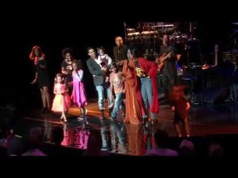 Diana Ross Brings Family To Stage - Wynn Resort Las Vegas - October 21, 2017