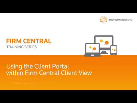 Legal Document Sharing Using the Firm Central Client Portal | Your Client's View of the Portal
