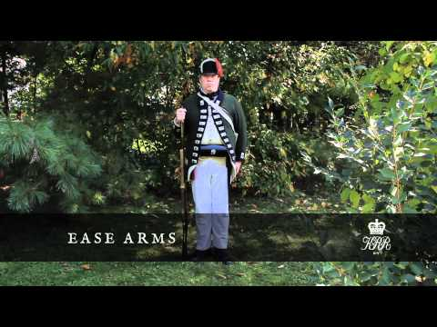 King's Royal Yorkers Drill Manual - III - Take Care : Handle Arms / Ease Arms and Clap Hands