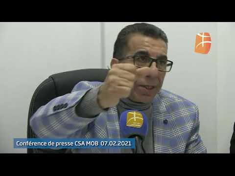 MOBejaia: Conférence de presse de Arab Benai, Tikheroubine et Khima