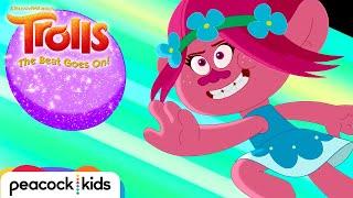 ASK POPPY: Win at Glitterball | TROLLS (NEW SHORTS)