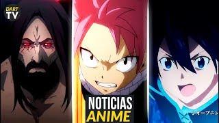 Tokyo Ghoul RE 2 trailer, SAO 3 Alicization Trailer, Fairy Tail 3, Bleach LA Disponible Netflix