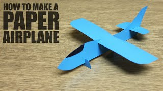 How to make a paper airplane - DIY paper plane